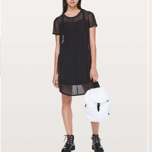 🆕 RARE Lululemon Ready to Reach Mesh Dress Sz 8